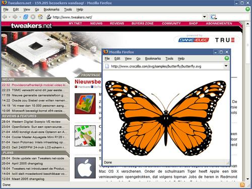SVG in Mozilla Firefox (klein)