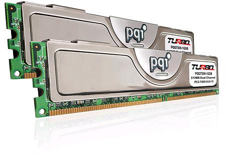 PQI DDR2-900-geheugen