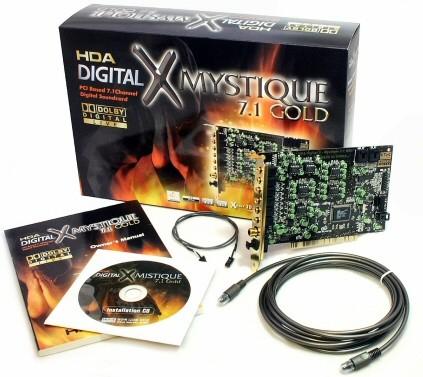 HDA X-Mystique 7.1 Gold
