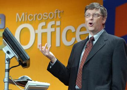 Bill Gates over Office (archief)