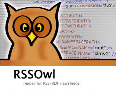 RSSOwl logo (groot)