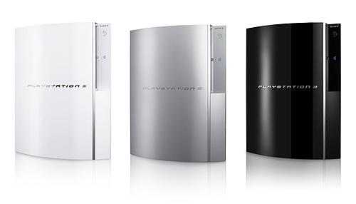 PS3 wit-zilver-zwart