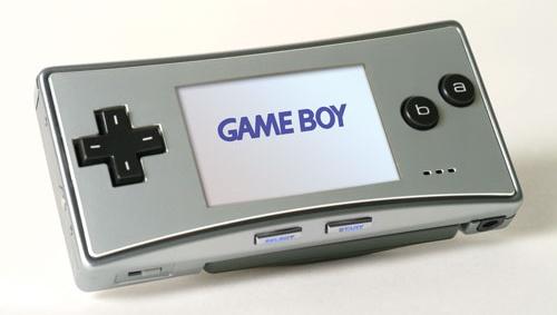 GameBoy Micro (schuin)