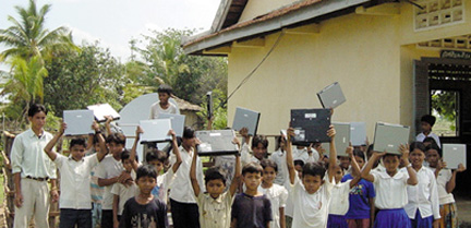 Laptop van 100 dollar / ontwikkelingsland / derde wereld