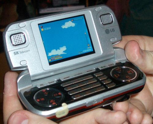 LG Cyon 3d-telefoon met ATi-chip