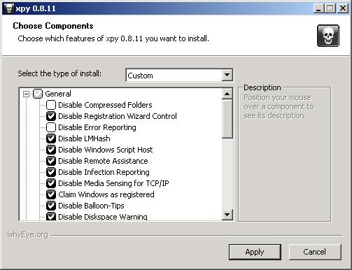 xpy 0.8.11 screenshot