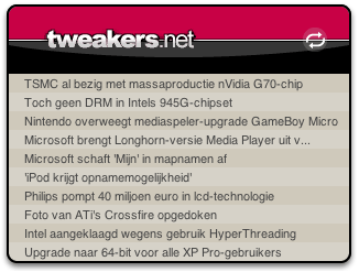 Tweakers.net widget