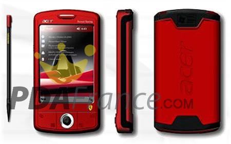 AcerN50 Pocket PC Ferrari Edition (LQ)