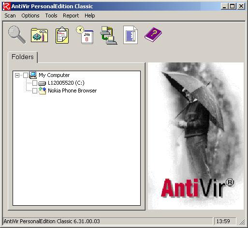 Antivir Personal Edition Classic 6.31