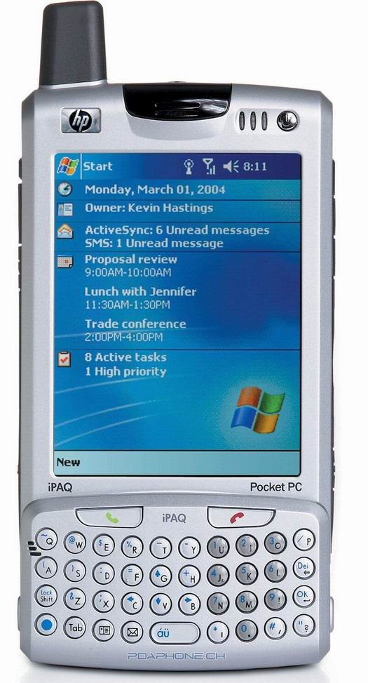 HP iPaq H6340 (absurd groot)