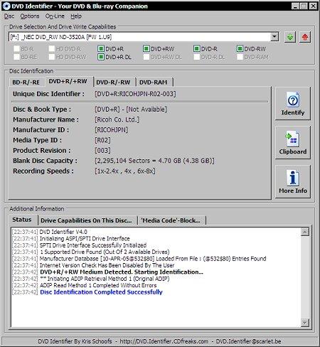 DVD Identifier 4.0 (klein)