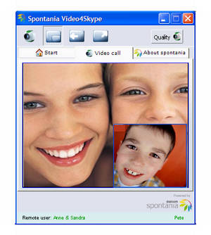 Spontania Video4Skype
