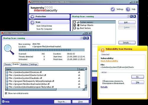 Kaspersky Internet Security 6.0.12.168 (klein)