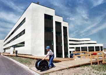 Bouwwerkzaamheden AMD fabrieksterrein Dresden