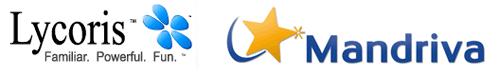 Mandriva en Lycoris logo