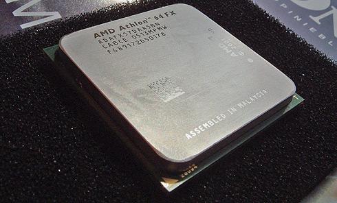Athlon 64 FX-57 processor close-up