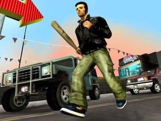 GTA3-character met honkbalknuppel