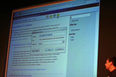 Internet Explorer 7 - RSS-feed toevoegen dialoogvenster (klein)