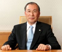President-directeur Atsutoshi Nishida van Toshiba