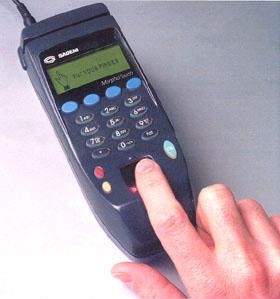 Vingerafdruk-scanner