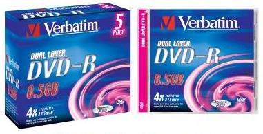 Verbatim 4-speed DL DVD-R