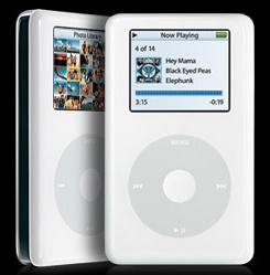 iPod met kleurenbeeldscherm