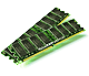 1GB x2 (2GB) PC6400 DDR2, CL5