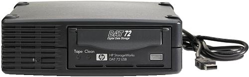 HP StorageWorks DAT 72 USB tapedrive