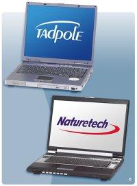 Tadpole Nanotech laptops