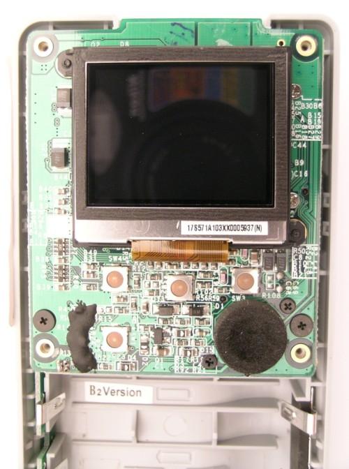 Binnenkant Pure Digital wegwerpcamera