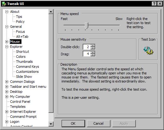 Tweak UI voor Windows XP