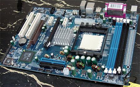 Referentiebord met ULi M1695-chipset