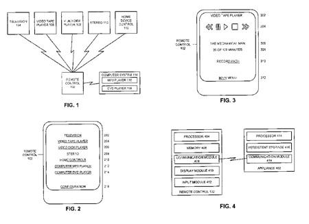 Apple universele afstandsbediening (klein)