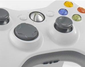 Xbox 360 controller close-up