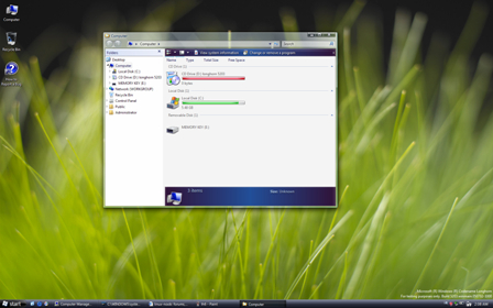 Windows Longhorn build 5203 screenshot desktop computerbeheer (klein)