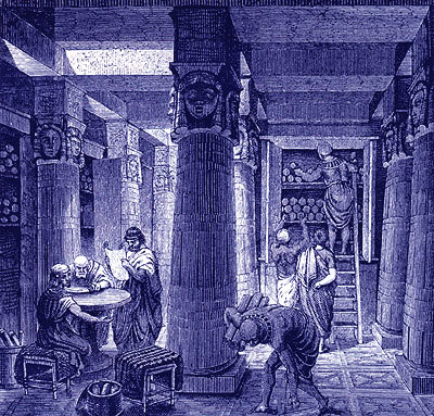 Bibliotheek van Alexandri�
