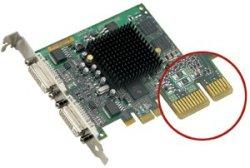 Matrox Millenium G550 PCIe
