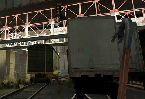 Supersample Transparency Adaptive Anti Aliasing: vrolijke brug op somber station