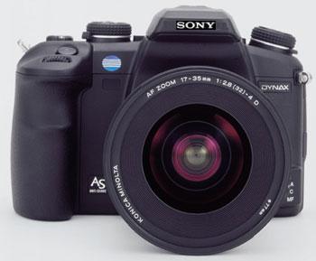 Nog niet bestaande Sony DSLR