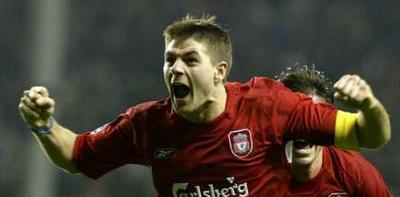 Steven Gerrard, captain van regerend Champions-Leaguekampioen Liverpool, is er blij mee
