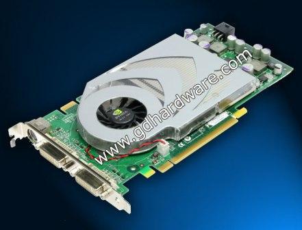 Geforce 7800 GT, eerste foto