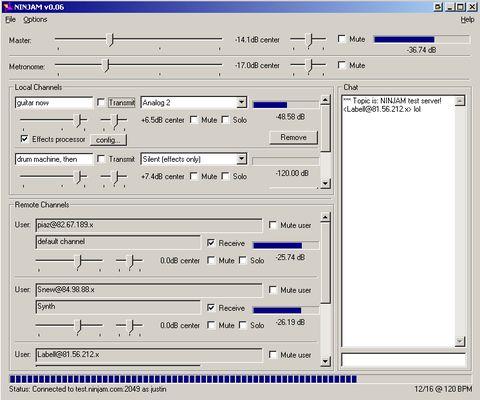 Ninjam 0.06 (Windows)