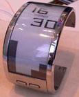 e-paper horloge (klein)