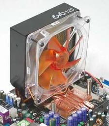 Akasa EVO 120 heatpipe-cpukoeler
