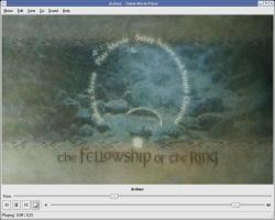 Gnome 2.12 - Totem met dvd-menu's (klein)
