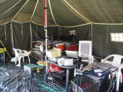 WTH - binnenkant van een tent