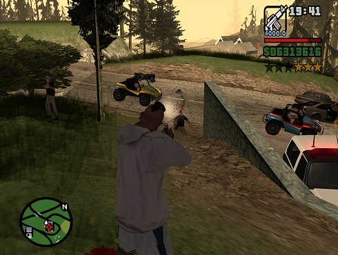Screenshot GTA San Andreas