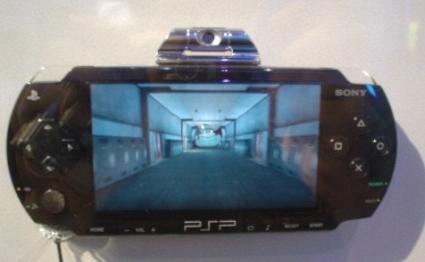 PlayStation Portable met camera