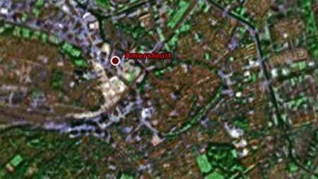 Amersfoort op Google Earth
