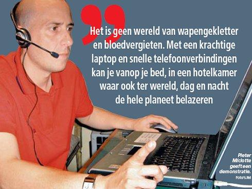 'Hacker' Pieter Miclotte in Het Laatste Nieuws